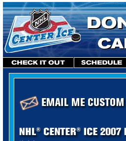 Center Ice screenshot
